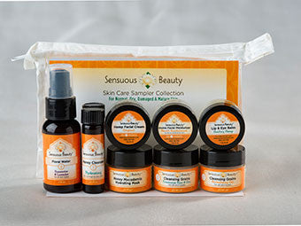 Skin Care Sampler - Normal, Dry, Damaged & Mature