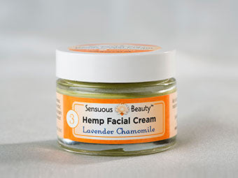 Hemp Facial Cream - Lavender Chamomile