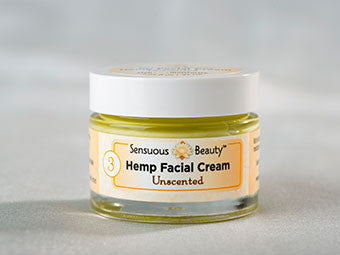 Hemp facial Cream - Unscented