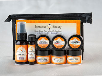 Skin Care Sampler - Combination, Oily & Blemished