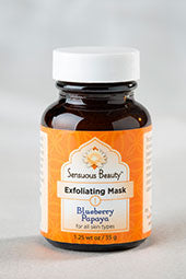 Exfoliating Mask - Blueberry Papaya