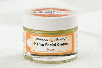 Hemp Facial Cream - Rose