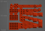 6mm Weapon and Equipment Sprue