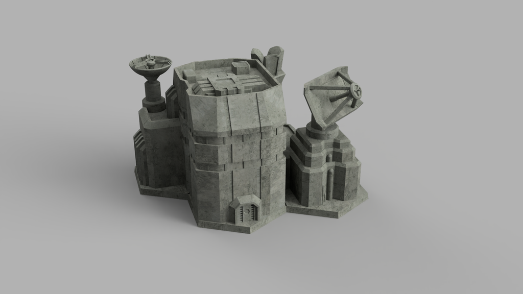 HEXTECH - Small Comm Station (STL Download)