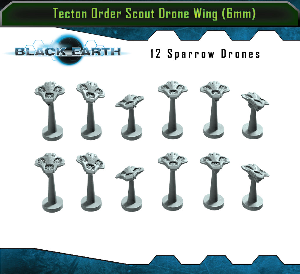 Tecton Order Scout Drone Wing (12 Drones)