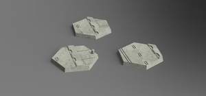 Urban Hex Bases (STL Download)