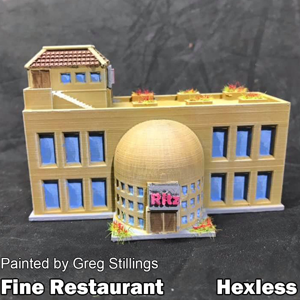 Fine Restaurant (The Ritz)  (HEXTECH Compatible)