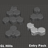HEXTECH - Grasslands Hills Entry Set