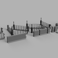 Grasslands Water Farm (28/32mm - STL Download)