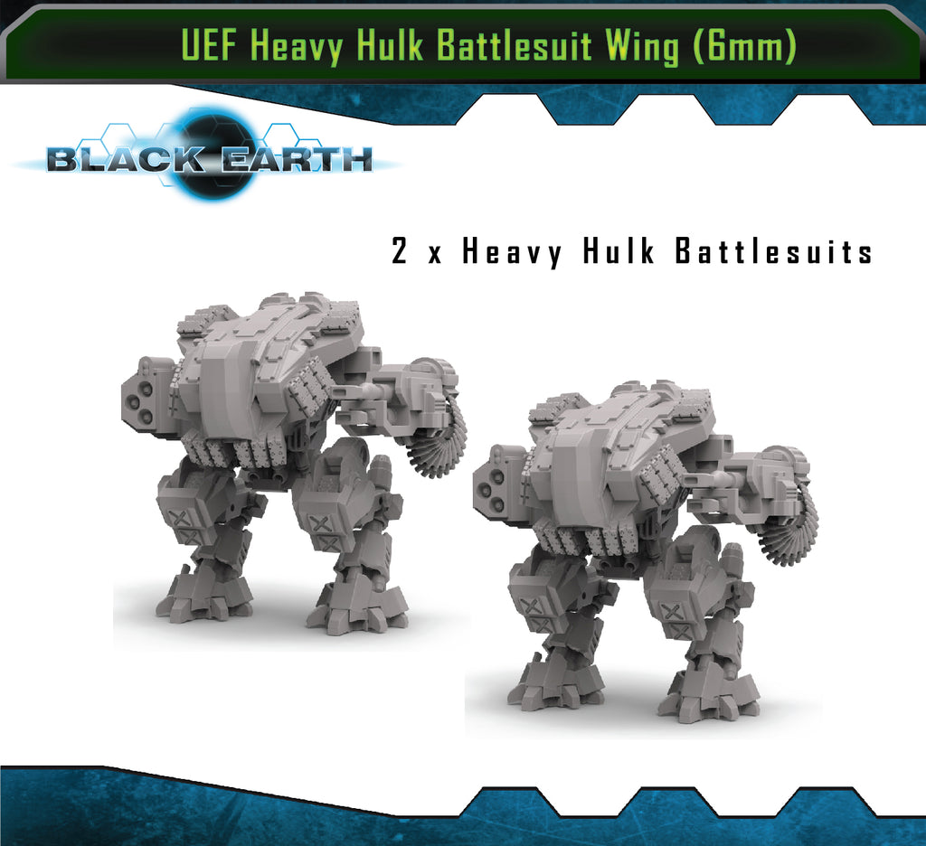 U.E.F Heavy Hulk Battlesuit Wing (2 Pack)