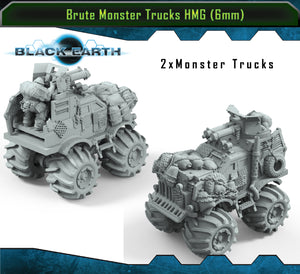 Brute Monster Trucks HMGs (2 Pack)