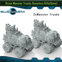 Brute Monster Trucks Recoilless Rifle (2 Pack)