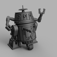 Sassy Utility Droid (28/32mm - STL Download)