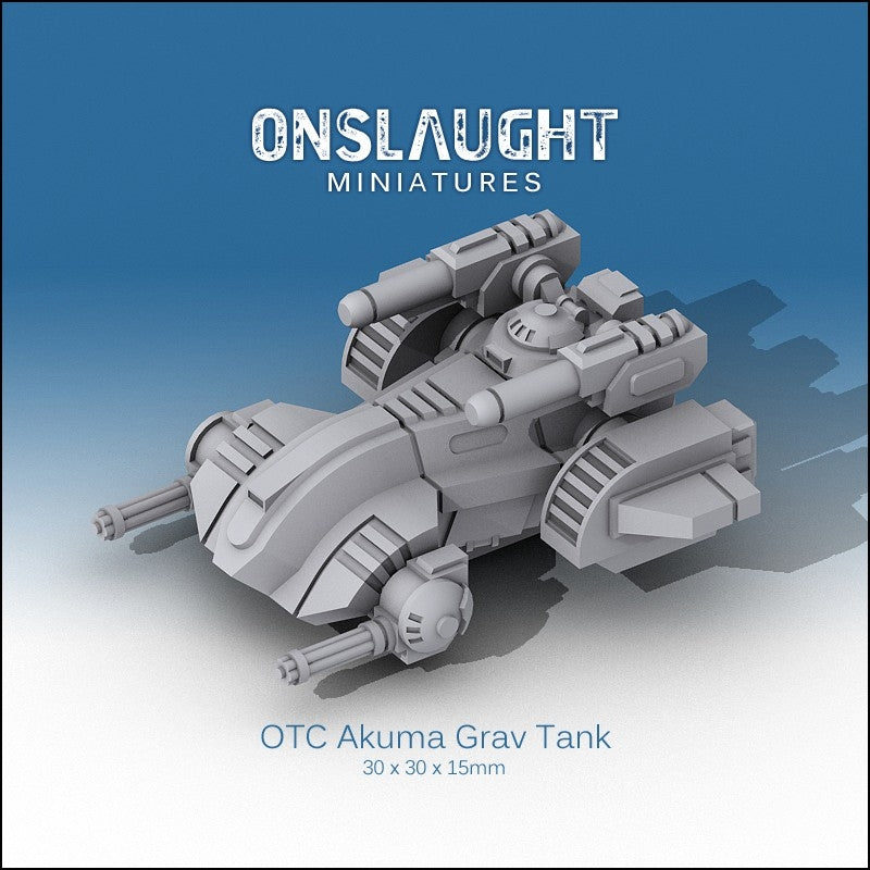 OTC Akuma Grav Tanks (3 Pack)