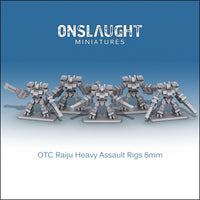 OTC Raiju Heavy Assault Rigs