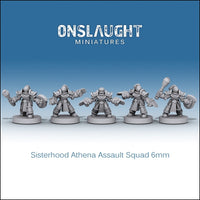 Sisterhood Athena Assault Squad