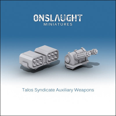 Talos Syndicate Auxiliary Weapons