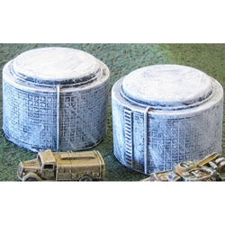 Industrial Oil Tanks (2 Pack)
