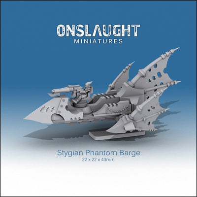 Stygian Phantom Barges (3 Pack)