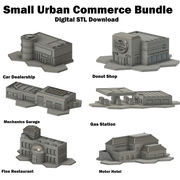 Small Urban Commerce Bundle (STL Download)