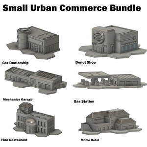 Small Urban Commerce Bundle (HEXTECH Compatible)