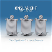 Talos Syndicate Command Banners