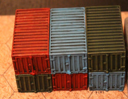 Shipping Containers (6 Pack)