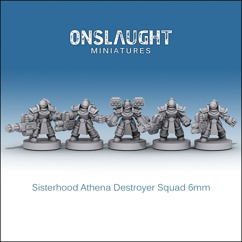 Sisterhood Athena Destroyer Squad