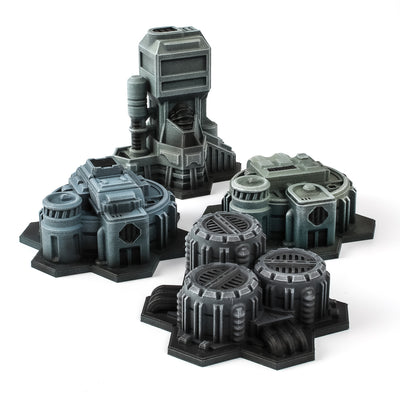 Hex City Industrial - Entry Set
