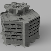 HEXTECH - Trinity City Parking Garage (STL Download)