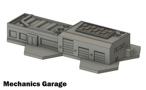 Mechanics Garage (STL Download)