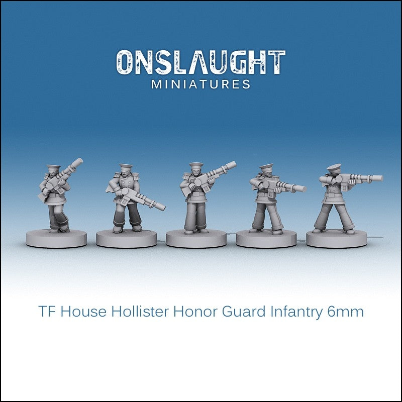 Terran Federation Hollister Honor Guard Infantry