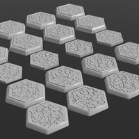 Textured Hex Bases (Multiple Options)