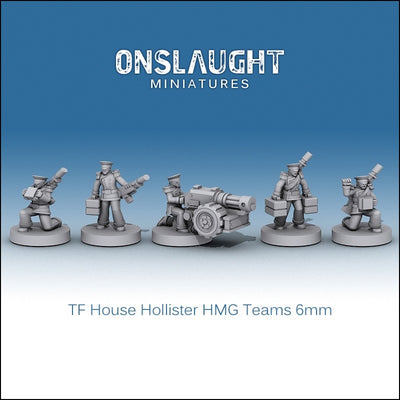 Terran Federation Hollister HMG Teams