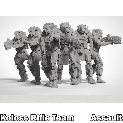 Koloss Assault Rifle Team