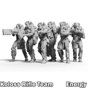 Koloss Energy Rifle Team