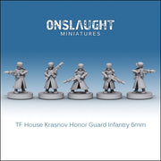 Terran Federation House Krasnov Honor Guard Infantry