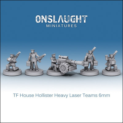 Terran Federation Hollister Heavy Laser Teams