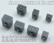 6mm Missiles Weapons Pack