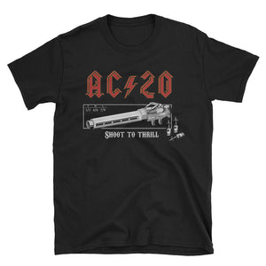 AC ϟ 20 - Shoot To Thrill T-Shirt