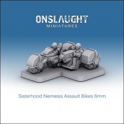 Sisterhood Nemesis Assault Bikes (5 Pack)