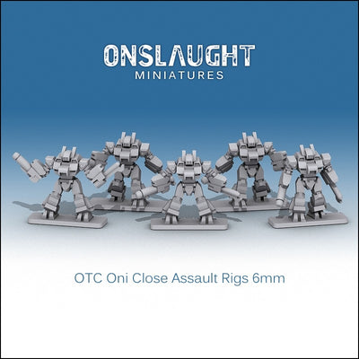 OTC Oni Close Assault Rigs