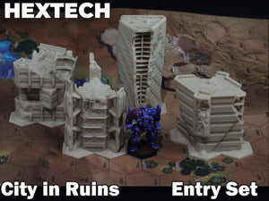 HEXTECH - City in Ruins Entry Set