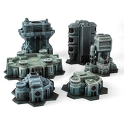 Hex City Industrial - Starter Set