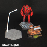 6mm (1/285 Scale) Street Lights - Pack of 10