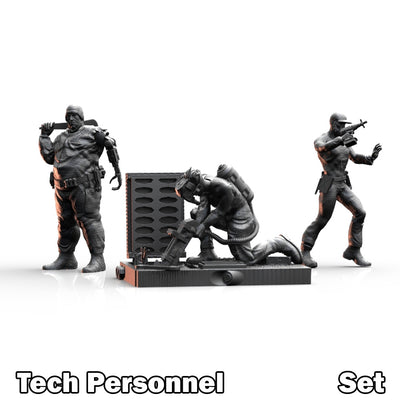 Tech Personnel Set