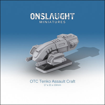 OTC Tenko Assault Craft (5 Pack)