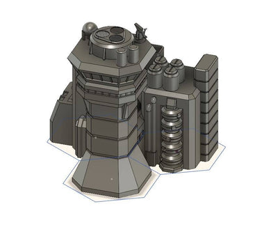 HEXTECH - Control Tower Complex (STL Download)