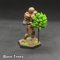 6mm (1/285 Scale) Basing Trees - Pack of 10