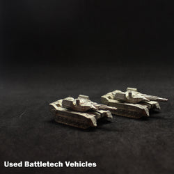 Used Battletech Miniatures - Vehicles & Aerospace/Infantry/Battle Armor